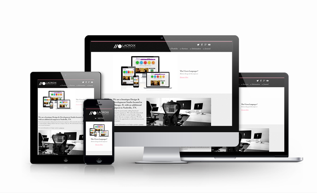 Responsive Wordpress website design service