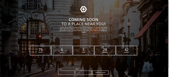 wordpress website designer Promotional marketing product launch campaign landing page website