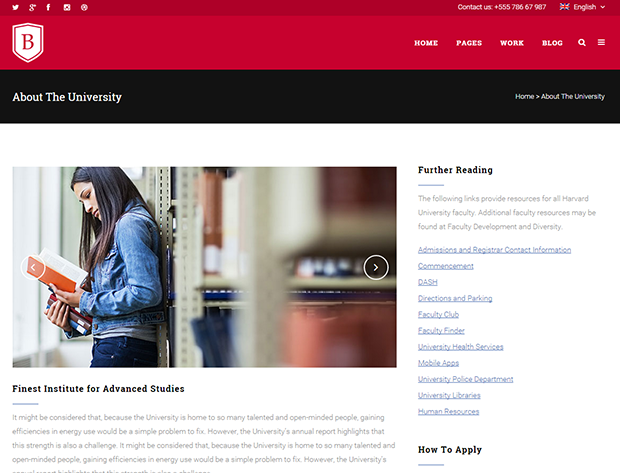University education institute website