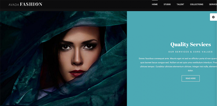 Wordpress artist portfolio website