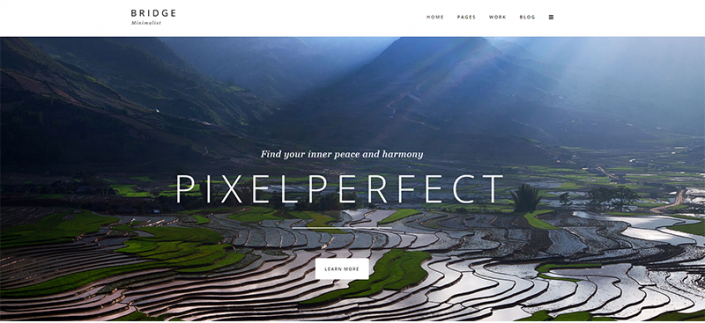 Wordpress design for travel