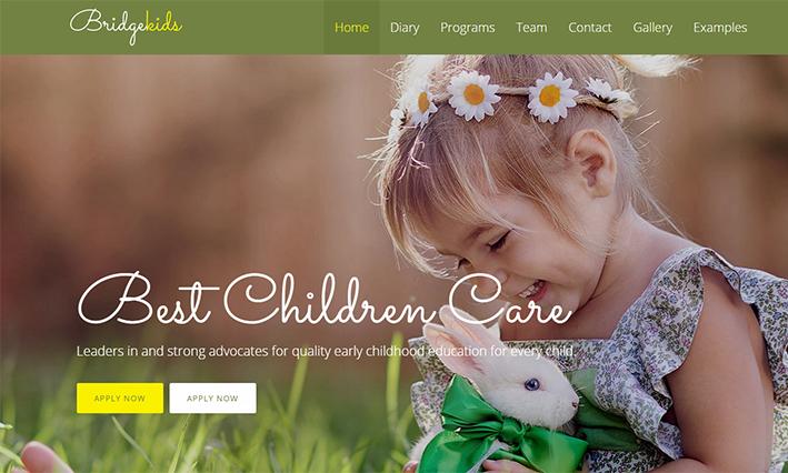 Wordpress designer Childrens online estore website